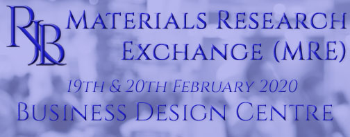 RJB Exhibitions at Materials Research Exchange